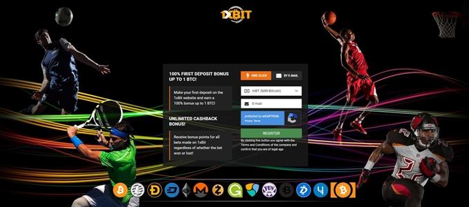 1xbit registration page