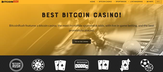 bitcoinrush landing page