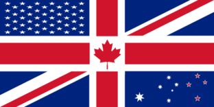 uk usa and australia mixed flag