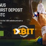 1xbit bitcoin betting site signup bonus of 1 BTC