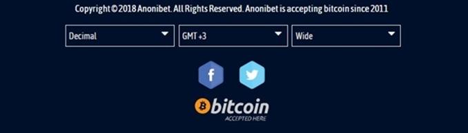 anonibet accepts bitcoin