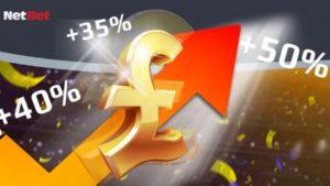 netbet up to %50 acca bonus