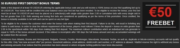 vitalbet bonus offer