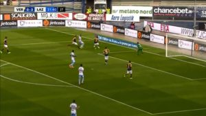 Coss.io ads at Italian Serie A